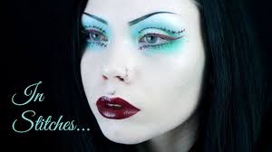 in sches wearable makeup inspired by frankenstein s monster