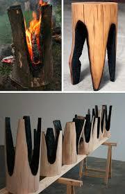rustic wood furniture ideas. Redefining Rustic Materials: 6 Modern Log Furniture Makers | Urbanist Wood Ideas U