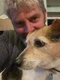 """Alan McGinn on Twitter: """"Barney pretending to want a cuddle as a pretext to  get closer to the food smell.… """""""