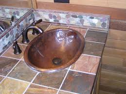 copper bathroom sinks. large oval dragonfly design copper bath sink bathroom sinks