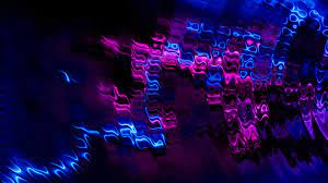 Abstract Purple Blue Cell 4k, HD ...