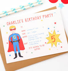 superheroes birthday party invitations superhero personalised birthday party invitations by superfumi