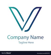 V Letter Design V Letter Logo Design