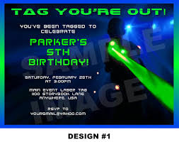 Free Laser Tag Invitation Template Laser Tag Party Invitations Template Free Nicks Birthday Laser