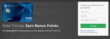 Simply refer us a client to us and start profiting today. Chase Sapphire Preferred Refer A Friend Program Earn Bonus Points For Csp Referrals