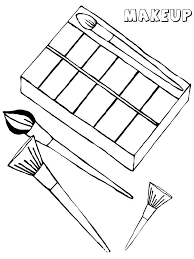 Small Picture Makeup coloring pages Free Printable Makeup coloring pages