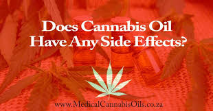 medical thc oil side effects
