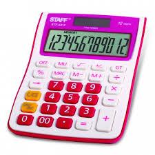 <b>Staff Калькулятор</b> настольный STF-6212 - Акушерство.Ru