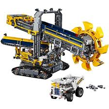 Amazon Com Lego Technic Bucket Wheel Excavator 42055 Construction