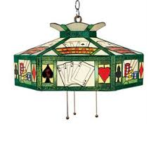 pool table used pendant lighting stained glass one light in tiffany style