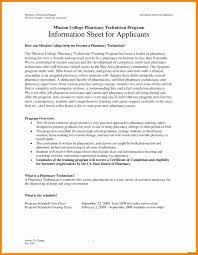 Pharmacy Tech Resume Sample Fresh B Pharmacy Resume Format For