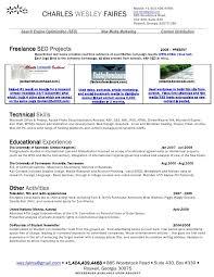 Wes Faires Search Engine Optimization Seo Resume Stockphotos Resume