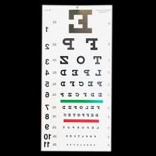 Where Can I Buy An Eye Chart Reversed Snellen Eye Chart