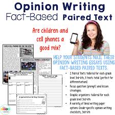 cell phones paired texts writing on demand argumentative and  cell phones paired texts writing on demand argumentative and opinion essays