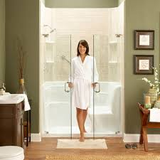 acrylic walk in shower kits