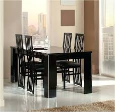 black lacquer dining table black lacquer extending dining table