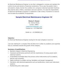 Resume Sample For Experienced Electrical Engineer Valid Electrical
