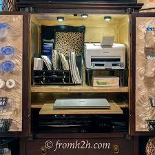 home office desk armoire. Armoire Office. Office U Home Desk C