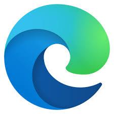 edge browser logo free icon of