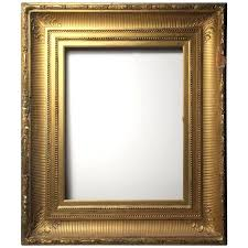 wood mirror frame. Wood Frame Mirror River School Gilded For Sale Adhesive