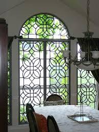 portal faux wrought iron window inserts rod insert