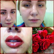 татуаж губ коррекция формы губ помада которая не стирается не