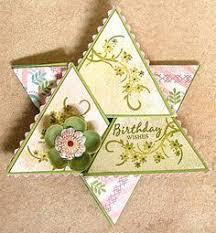 Juttesque Star Fold Card Template Fancy Fold Cards