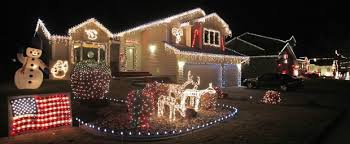 Candy Cane House Decorations Neighborhoods celebrate Christmas with lights Local 54