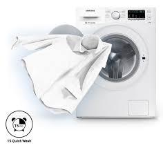 Máy giặt cửa trước Samsung AddWash 9kg WW90K52E0WW/SV