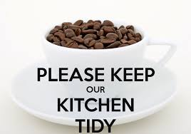 Kitchen Tidy Please Keep Our Kitchen Tidy Poster Theoline Keep Calm O Matic