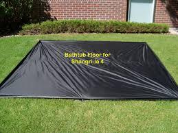 golite s slangri la 4 with full zippered door perimeter netting and bathtub floor