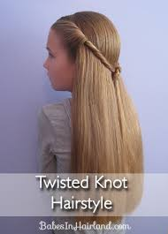 Twisted Hair Style Twisted Knot Hairstyle Teen Hairstyles Babes In Hairland 2406 by wearticles.com