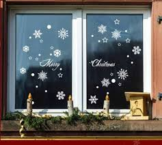 snowflake new year window display wall decorations can remove wall stickers glass doors stickers and wall paintings