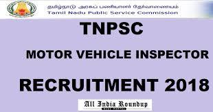 tnpsc motor vehicle inspector grade ii
