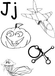 Small Picture PreSchool Alphabet Letter J Worksheet Homeschool Helper