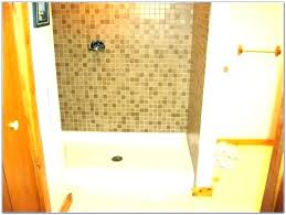 pn replce replace shower pan with tile under instll stll bse bses pnels