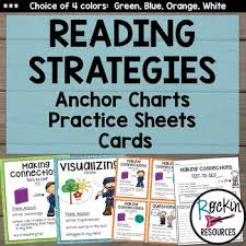 Reading Comprehension Strategies Reading Strategies Posters