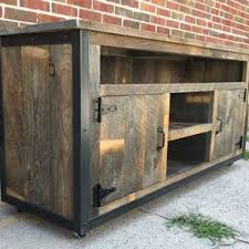 distressed wood entertainment center. Rustic Industrial Reclaimed Wood Entertainment Center By Jeremy Paradis On Distressed