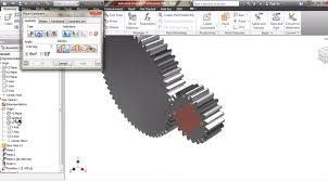how to create a 3d gear to do animation in scams autodesk inventor gear animation drawing and graphics