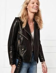 vintage leather jacket anine bing