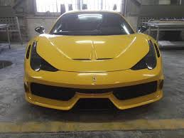 The 458 spider is also known for its sharp steering and appealing weight transfer in cornering. Ferrari 458 Italia Speciale Style Hood And Front Bumper Body Kit Ebay