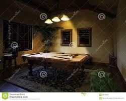 pool room lighting. Night Time Billiards Pool Table Game Stock Photo - Image Of Billiards, Apartment: 98319958 Room Lighting