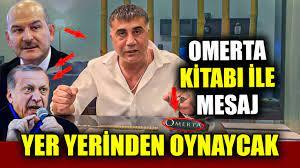 Sedat Peker Omerta Suskunluk Yasası Kitabı ile Kime Mesaj Verdi Erdoğan mı  Süleyman Soylu mu - YouTube