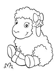Small Picture Sheep coloring pages s for sheep ColoringStar