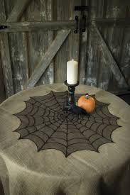 Spider Web Round Table Topper 30