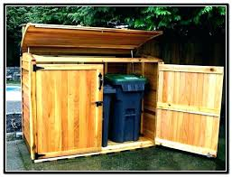 trash bin storage trash can storage cabinet outdoor garbage outdoor storage outdoor garbage can storage bin