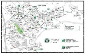Uhm Campus Map University Of Hawaii At Manoa