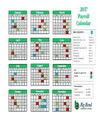 Payroll Calendar Template Custom Payroll Schedule Template Tacca