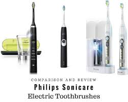 Electric Toothbrush Comparison Chart Philips Sonicare Toothbrush Model Comparison Clean4happy