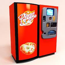 Automatic Pizza Maker Vending Machine Fascinating Automatic Pizza Vending Machine GinormaSource Food
